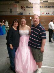 Full length prom photo