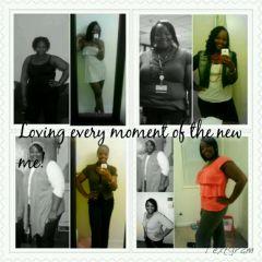 Loving the new me