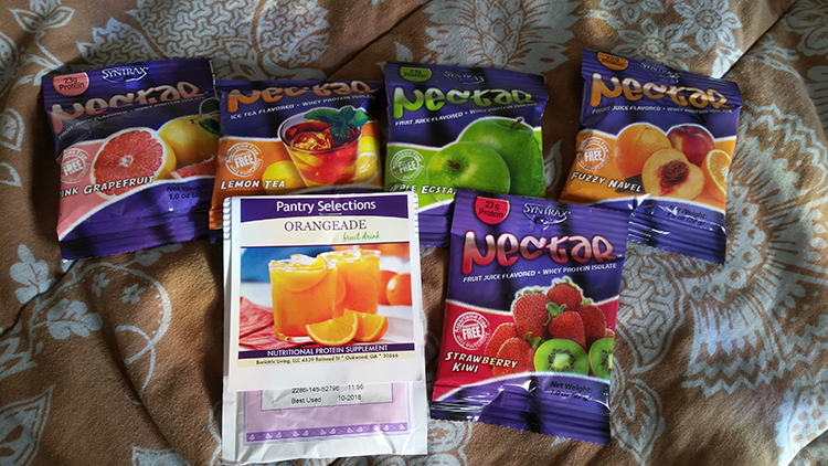 Bariatric Protein Drink Samples