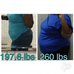 Starting Weight Until Now