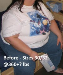 Before @360+ lbs
