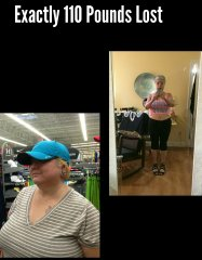 After 110 pound lost, weight 152 pounds, 3 years after surgery, from Atkins