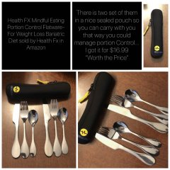 Portion Control Flatware for Bariatric Patients