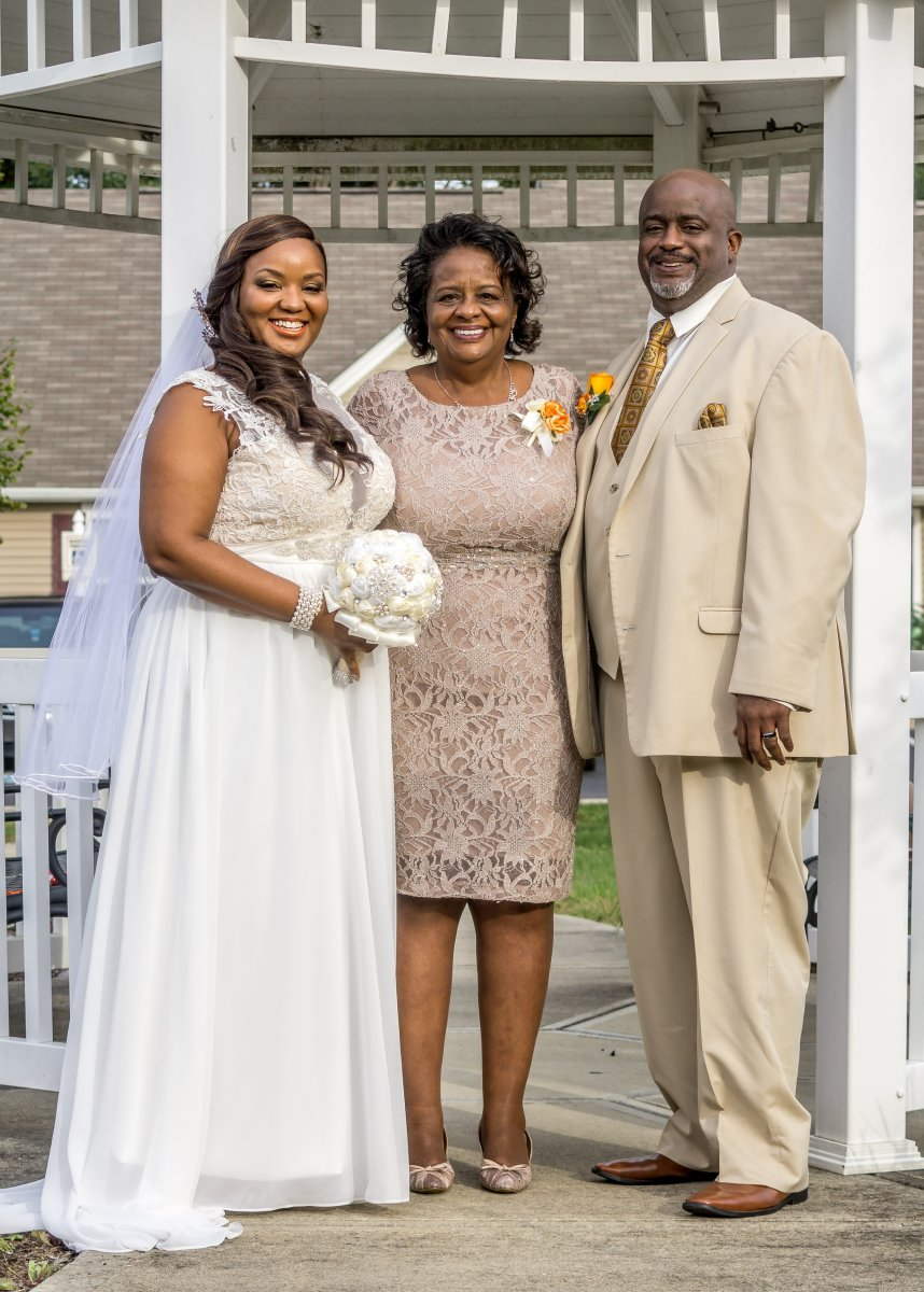 Wedding Day Pics (before surgery)