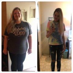 1 year anniversary! Down 140 lbs!